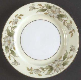 Royal Jackson Arlington Bread & Butter Plate, Fine China Dinnerware   White Dogw