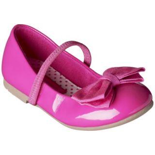 Toddler Girls Cherokee Daphne Ballet Flat   Pink 5
