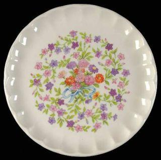 WS George Fiesta Bread & Butter Plate, Fine China Dinnerware   Bolero, Pink, Pur