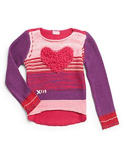 Toddlers & Little Girls Hi Lo Sweater