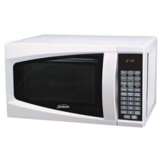 Sunbeam Digital Microwave Oven, 0.7 Cu. Ft.   White