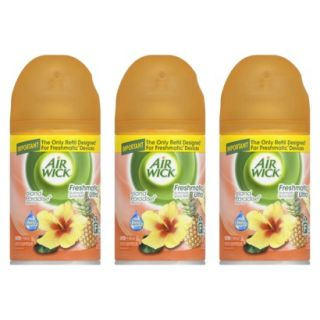 Air Wick Freshmatic Ultra Automatic Spray, Refill ISLAND PARADISE, 6.17 Ounces,