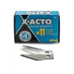 X acto Number 11 Stainless Steel Classic Blades (bulk Pack Of 100) (Number 11 )