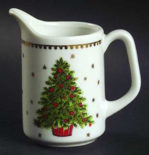 George Good Christmas Tree (Smooth) Mini Creamer, Fine China Dinnerware   Tree C