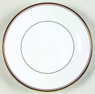 Noritake Allison Bread & Butter Plate, Fine China Dinnerware   White With Gold B