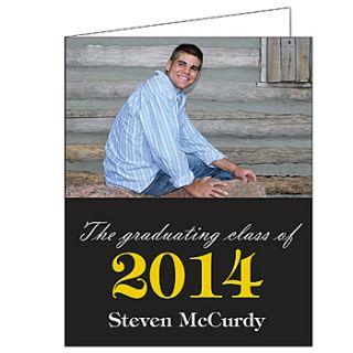 Stylish Swirls Graduation Giant Greeting Cards