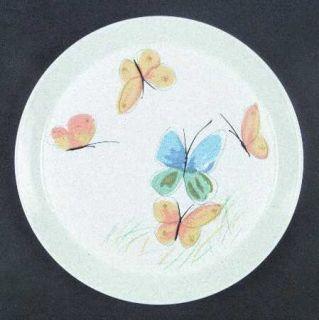 Mikasa Flights Of Fancy Dinner Plate, Fine China Dinnerware   Blue&Yellow Butter