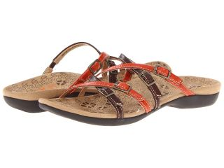 VIONIC with Orthaheel Technology Dr. Weil with Orthaheel Technology Inspire Slide Womens Sandals (Orange)