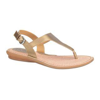 BOLO Kanika T Strap Sandals, Sun Bronze, Womens