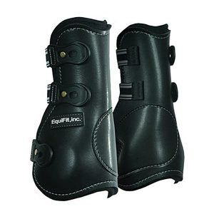 Equifit Low Profile T boot Horse Boots Black/white S/m