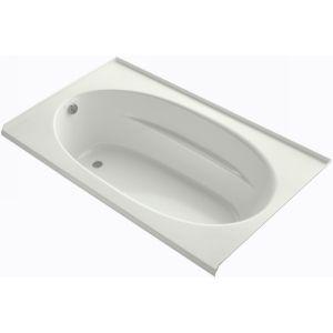 Kohler K 1114 GLF NY WINDWARD Windward Bubblemassage Bath with 3 Sided Tile Flan