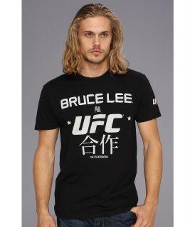 UFC Bruce Lee Translation Tee Mens Short Sleeve Pullover (Black)