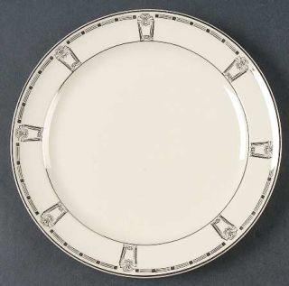 Taylor, Smith & T (TS&T) 1169 Dessert/Pie Plate, Fine China Dinnerware   Platinu