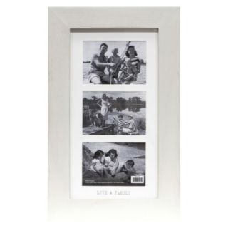 Love & Family 3 Opening Frame   Natural 5X7