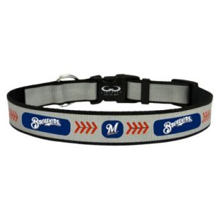 Milwaukee Brewers Reflective Large Baseball Collar