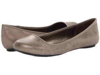 Dr. Scholls Friendly Womens Flat Shoes (Bronze)