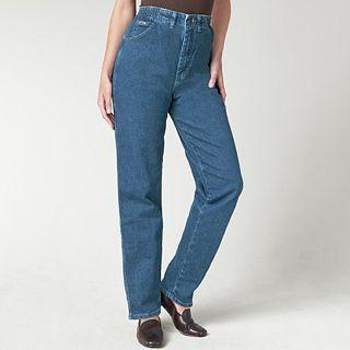 Lee Side Elastic Jeans, Pepper Stone, Womens