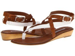 Diane Von Furstenberg Dottie Womens Sandals (Brown)