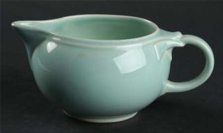 Taylor, Smith & T (TS&T) Luray Pastels Green Creamer, Fine China Dinnerware   So