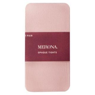 Merona Opaque Womens Tights   Pink 1X