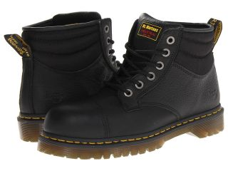 Dr. Martens Work Lyall ST 6 Eye Cap Toe Boot Work Boots (Black)