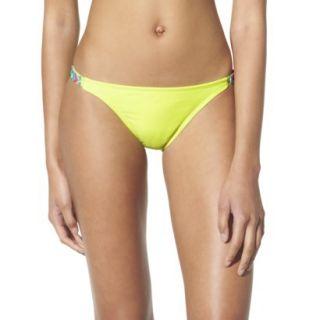 Xhilaration Juniors Hipster Swim Bottom  Yellow XS