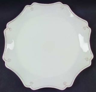 Juliska Ceramics Berry & Thread Whitewash Service Plate (Charger), Fine China Di