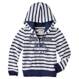 Genuine Kids from OshKosh Infant Toddler Girls Striped ZipUp Hoodie