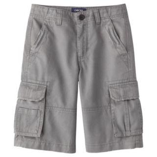 Cherokee Boys Cargo Short   Gray 16