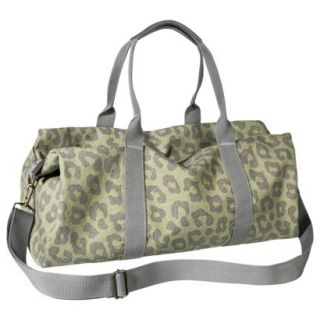 Mossimo Supply Co. Leopard Print Weekender Handbag   Green