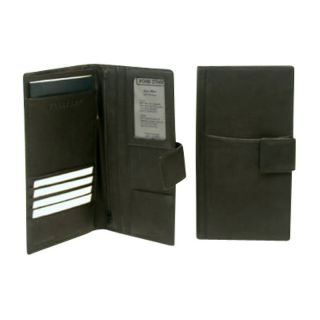 Bond Street Ltd Drum Dyed Soft Touch Leather Travel Wallet for the Executive