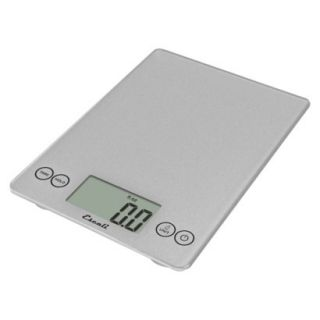 Escali Arti Digital Scale   Silver