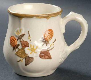 Metlox   Poppytrail   Vernon Autumn Berry Mug, Fine China Dinnerware   Embossed