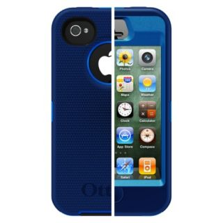 Otterbox Defender Cell Phone Case for iPhone4/4S   Blue (77 18583P1)