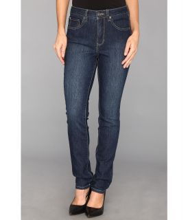 Jag Jeans Petite Holly Slim in Blue Shadow Womens Jeans (Blue)