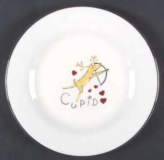 Pottery Barn Reindeer Dinner Plate Fine China Dinnerware SantaS ReindeerMul & Pottery Barn Reindeer Dinner Plate Fine China Dinnerware SantaS ...