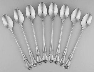 Oneida Arbor Rose/True Rose (Stainless) (Set of 8) Iced Tea Spoons   Stainless,