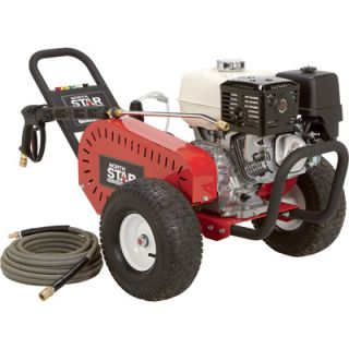 NorthStar Gas Cold Water Pressure Washer   3.5 GPM, 4000 PSI, Model# 1572041