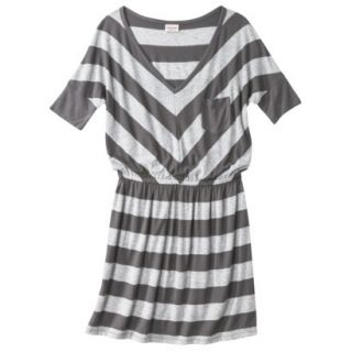Mossimo Supply Co. Juniors V Neck Dress   Flat Gray XXL(19)