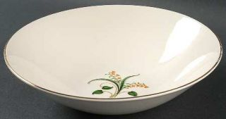 Edwin Knowles Forsythia 8 Round Vegetable Bowl, Fine China Dinnerware   Yellow