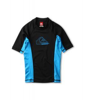 Quiksilver Kids DOB S/S Rashguard Boys Swimwear (Blue)