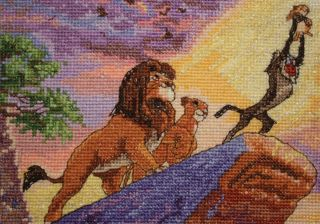 Disney Dreams Collection By Thomas Kinkade The Lion King 5x7 16 Count