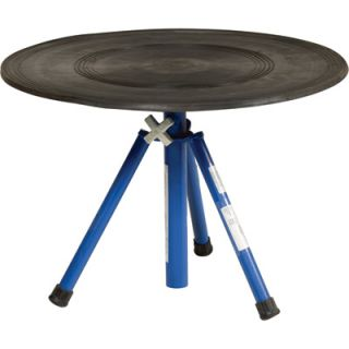 Vestil Heavy Duty Manual Turntable   With Pedestal, 300 Lb. Capacity, 30in. Dia.