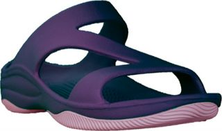 Womens Dawgs Z Sandal/Rubber Sole   Plum/Lilac Casual Shoes