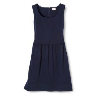 Merona Womens Ponte Dress   Xavier Navy   XL