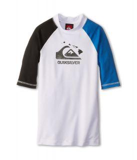 Quiksilver Kids Shaka S/S Surf Shirt Boys Swimwear (White)
