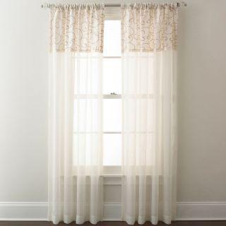 Westgate Rod Pocket Curtain Panel, Ivory
