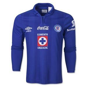 Umbro Cruz Azul 13/14 LS Home Soccer Jersey