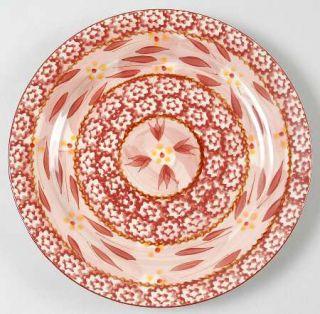 Temp Tations Old World Cranberry Salad Plate, Fine China Dinnerware   Cranberry