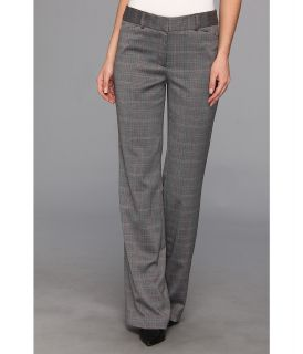 Anne Klein Novelty Suiting Flare Leg Pant Womens Casual Pants (Gray)